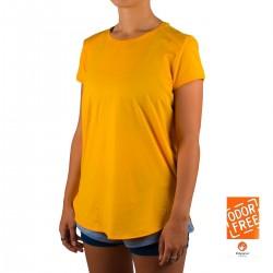 Salomon camiseta Comet Breeze Tee W naranja mujer