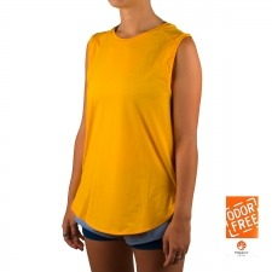 Salomon camiseta Comet Breeze Tank W naranja mujer