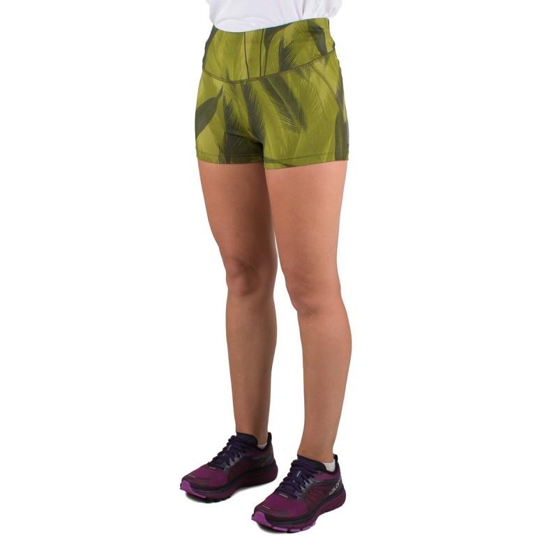 e09910acee55 Salomon Mallas cortas Agile Short Tight W Verde Mujer