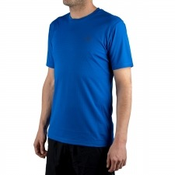 Salomon camiseta Agile Classic Tee M Azul Hombre