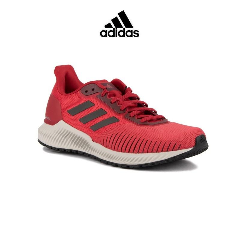 zapatilla roja hombre adidas