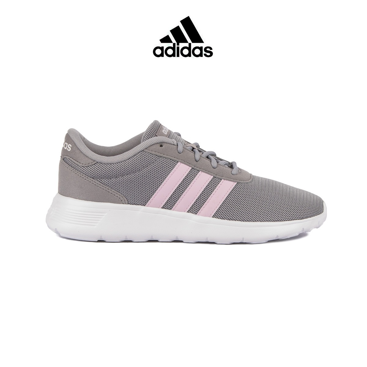 ADIDAS Lite Racer Gris Rosa Mujer