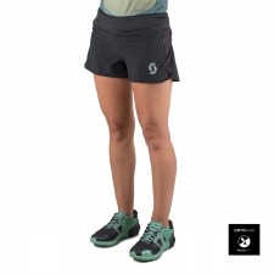 Scott Shorts Split Negros Mujer