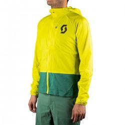 Scott Chubasquero Kinabalu Run Amarilla Verde Hombre