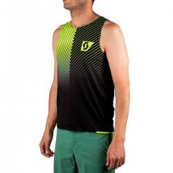 Scott Camiseta Tirantes SCO RC Run Amarilla Negra Hombre
