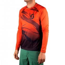 Scott Camiseta Manga Larga Kinabalu Run Naranja Hombre
