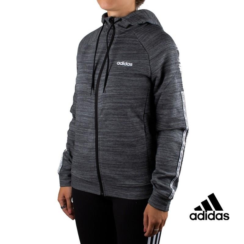 Adidas Chaqueta Con Capucha Xpressive Gris Para Mujer