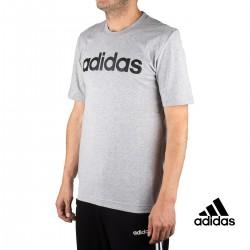 Adidas Camiseta Essentials Gris Hombre