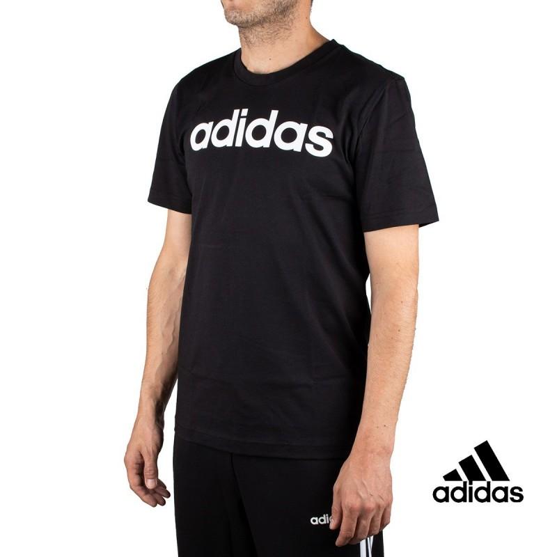 Adidas Camiseta Essentials Negro Hombre