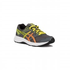 Asics Contend 5 GS Metropolis Shocking Orange Gris Lima Naranja Niño