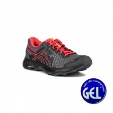 Asics Gel Sonoma 4 Carrier Grey Black Rosa Negro Mujer