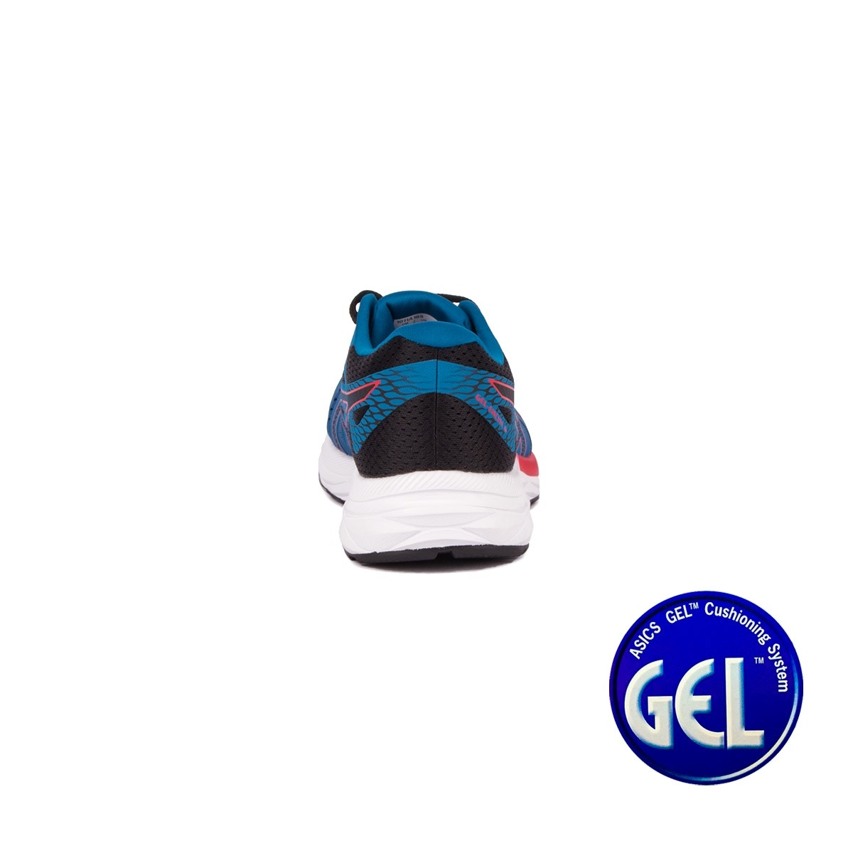 Asics Gel Excite 6 Deep Shapphiere Speed Red Azul Rojo Hombre