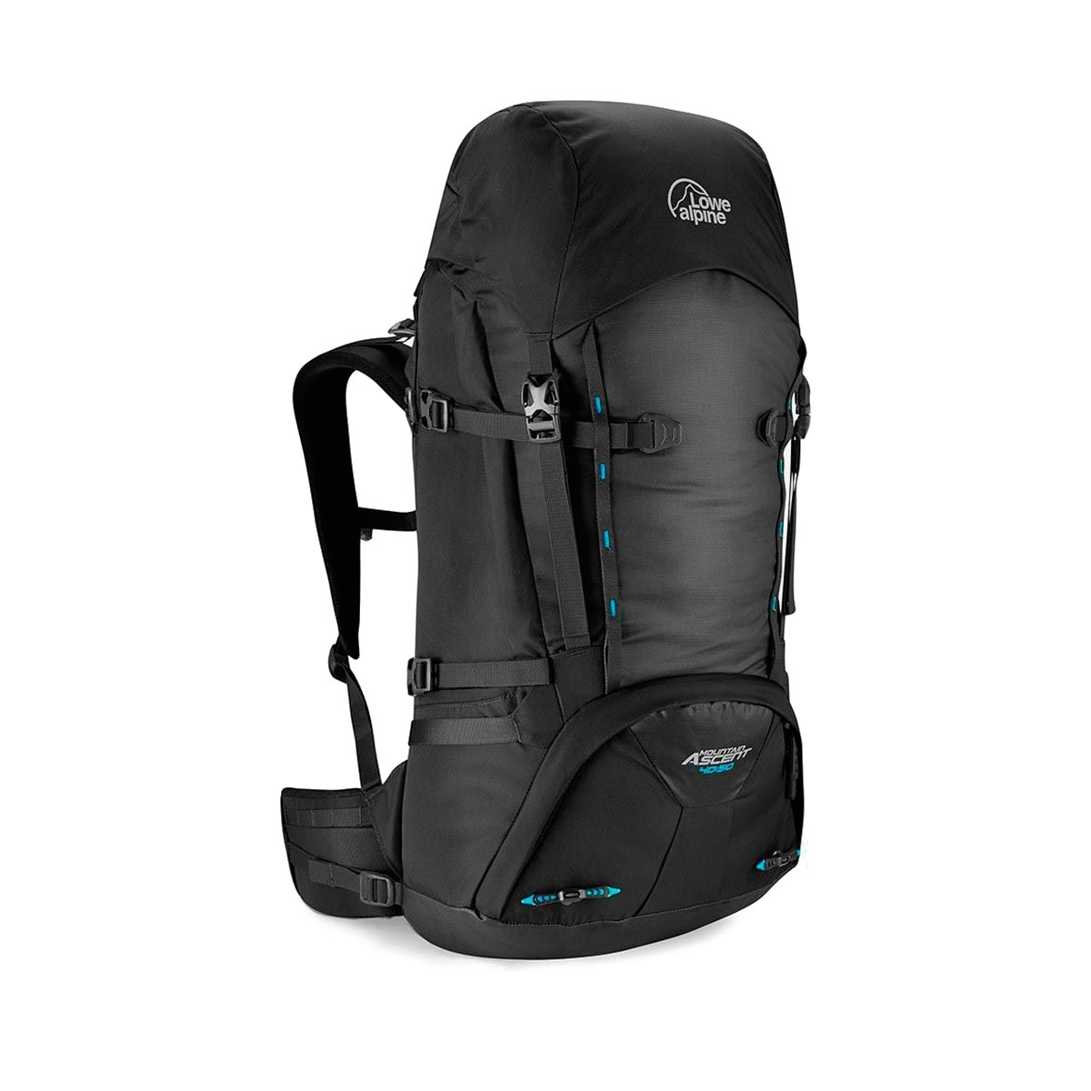 Lowe Alpine Mochila Mountain Ascent 40:50 Onyx Negro Gris