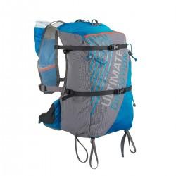 Ultimate Direction Mochila Ski Mountain Vest Graphite Azul Gris Blanca