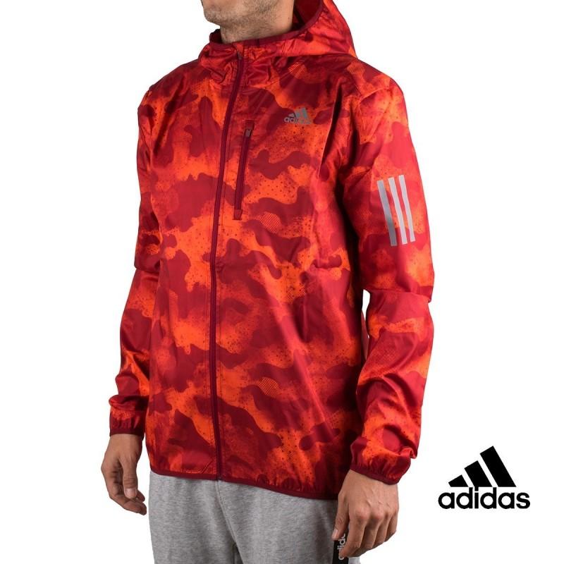 Adidas Chaqueta Own The Run Camouflage Hombre