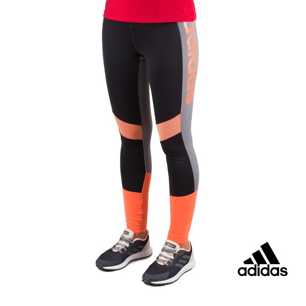 Adidas Mallas Largas Running Design 2 Move ColorBlock High-Rise Mujer