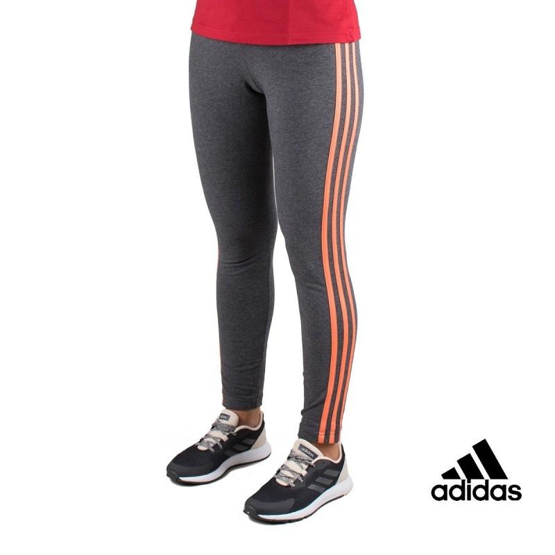 Adidas Mallas Largas W E 3S Tight Gris Salmón Mujer