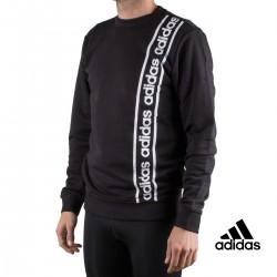 Adidas Sudadera Cuello Redondo Celebrate The 90s Branded Negra Hombre