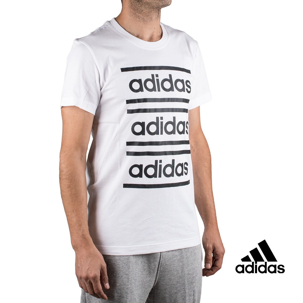Adidas Camiseta Celebrate The 90s Blanca Hombre