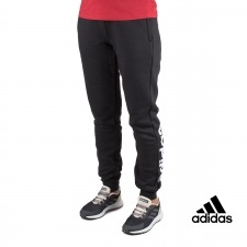 Adidas pantalón Essentials Linear Tapered Negro Mujer