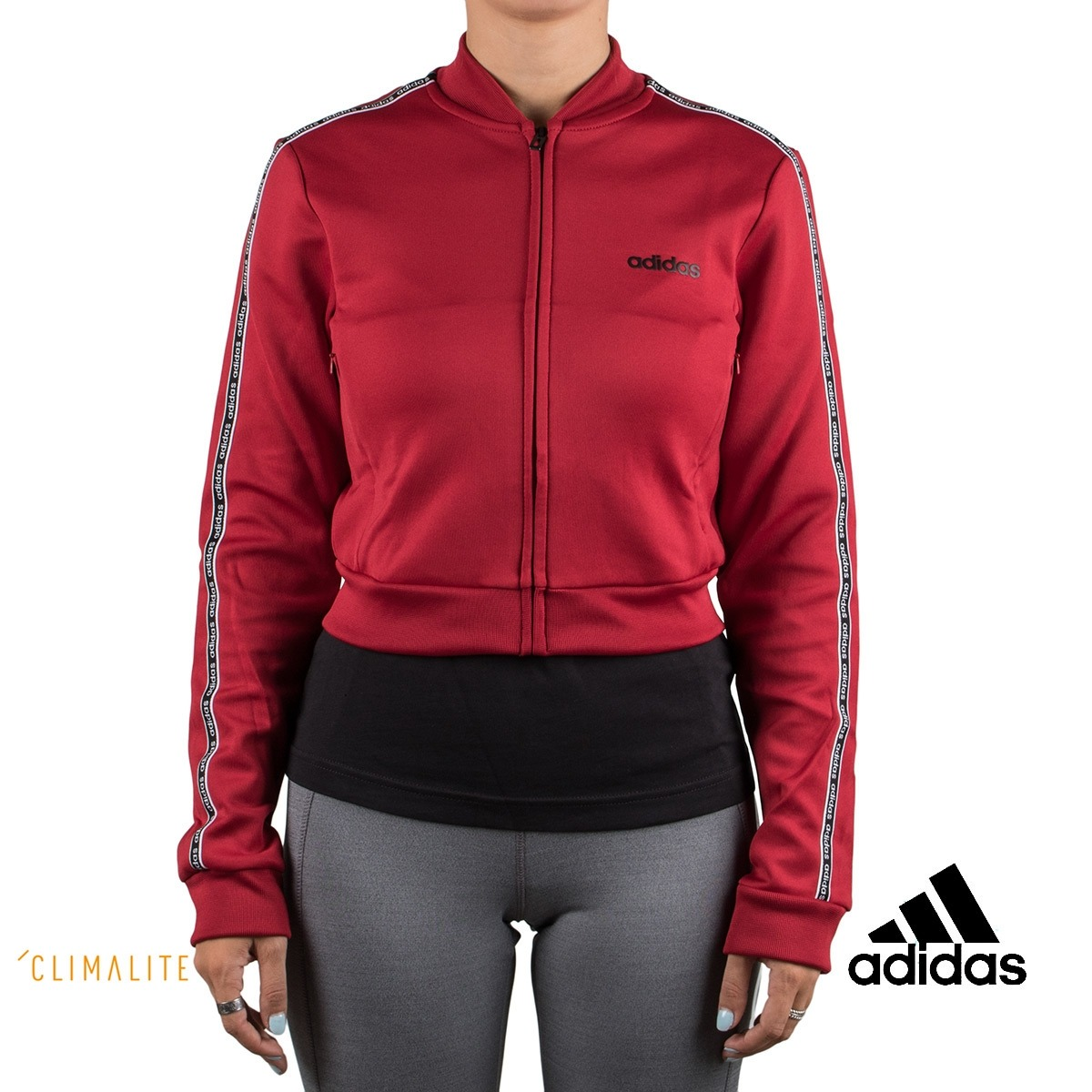 Adidas chaqueta Celebrate The 90s Granate Mujer