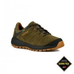 Timberland Zapatilla Parker Ridge GTX Low Hiker Dark Green Suede Hombre