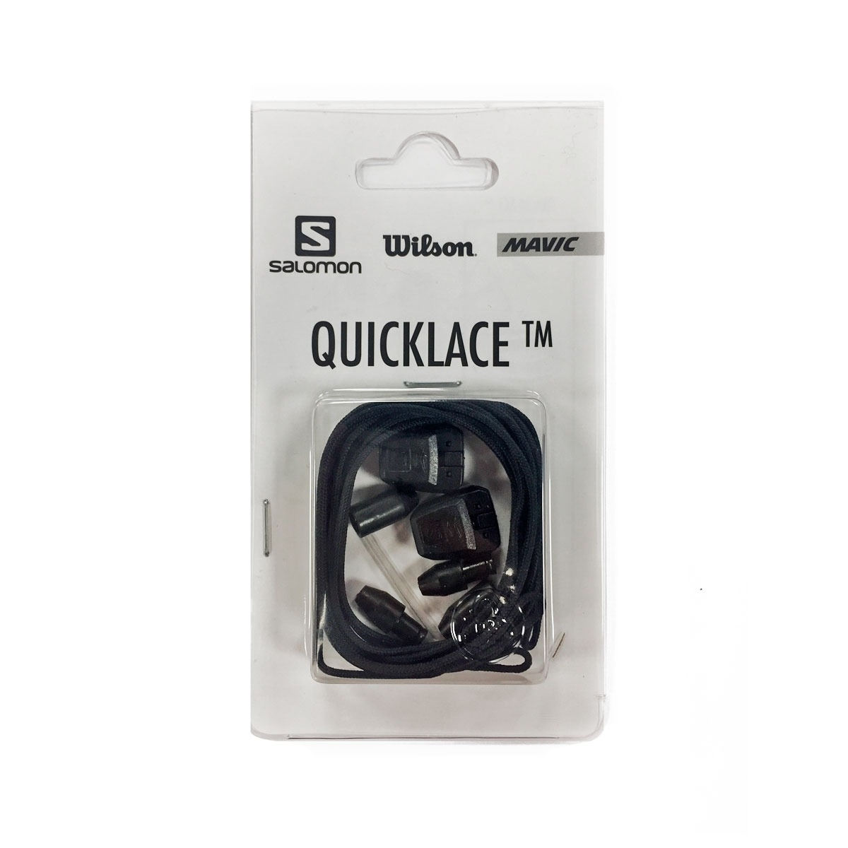 Salomon Cordones Quicklace Kit Repuesto Negro