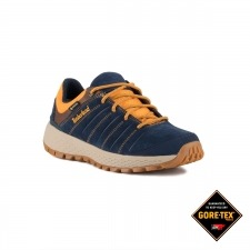 Timberland Zapatilla Parker Ridge GTX Low Hiker Medium Navy Suede Azul Hombre