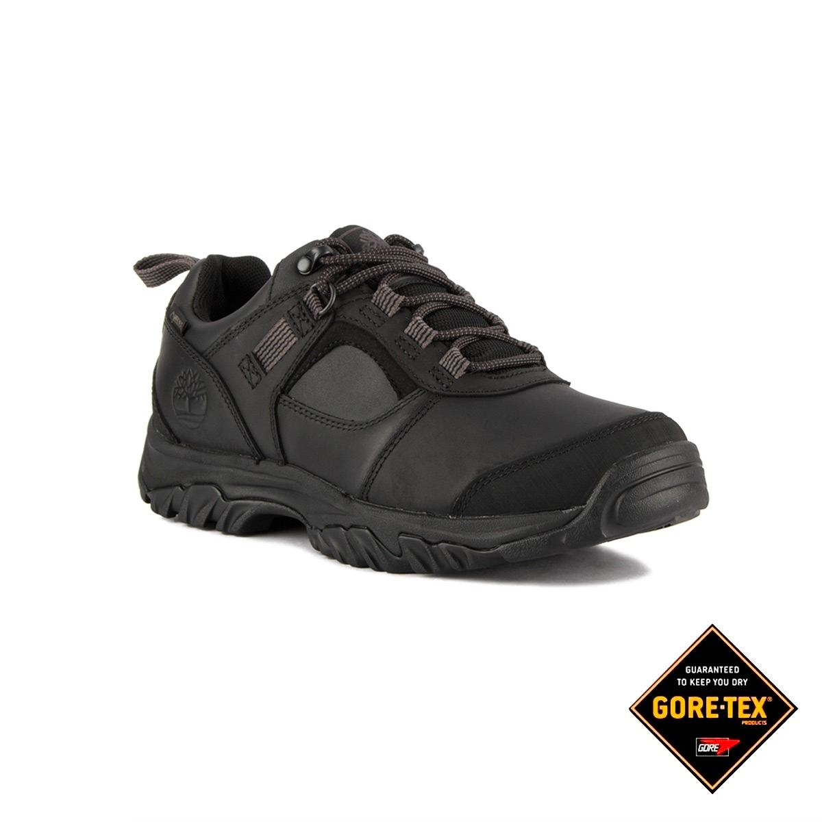 Timberland Zapatilla Mt Major Low GTX Black Full Grain Negro Hombre