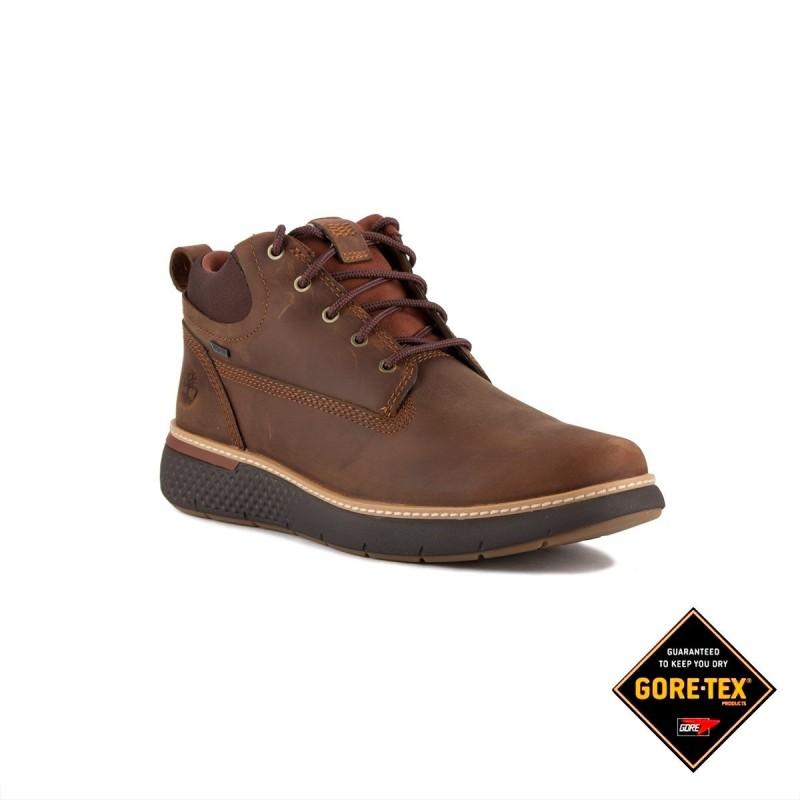 Timberland Bota Chukka Cross Mark Gore-Tex® MT Brown Full Grain Marrón Hombre