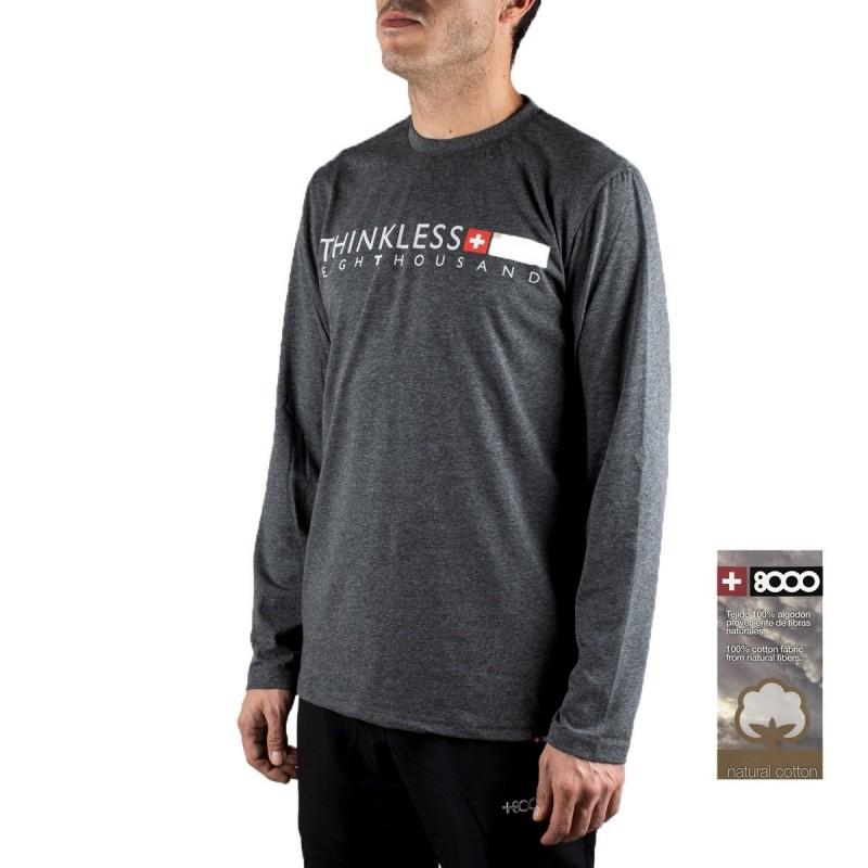 +8000 Camiseta Ampato 19I Negro Vigore Hombre
