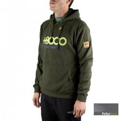 +8000 Sudadera Febri 19I Militar Verde Hombre