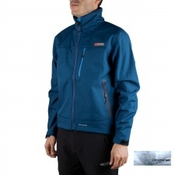 +8000 Softshell Sherpi 19I Denim Bicolor Azul Hombre