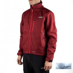 +8000 Softshell Sherpi 19I Cereza Bicolor Rojo Hombre