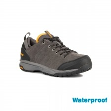 Hi-Tec Zapatilla Tortola Trail WP Charcoal Black Beacon Gris Amarillo Hombre