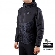 Millet Polartec Elevation Airloft Hoodie M Black Noir Negro Hombre