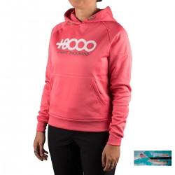 +8000 Sudadera Toroni 19I Geranio Rosa Mujer