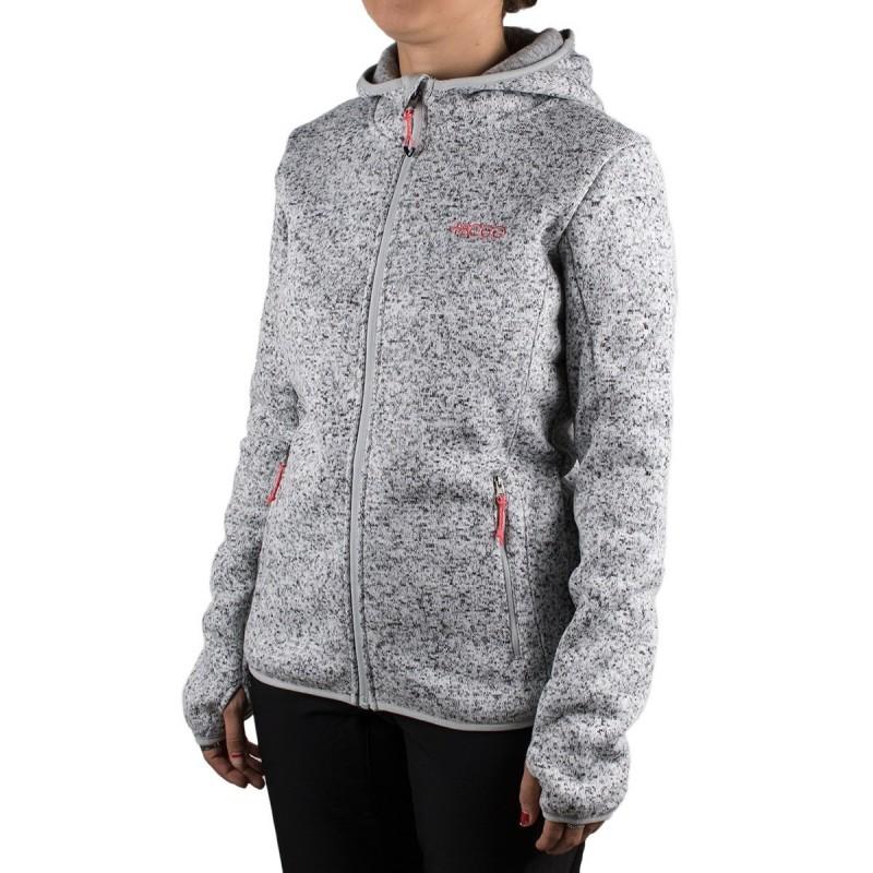 +8000 Chaqueta Punto Elbrus 19I Gris Claro Vigore Mujer