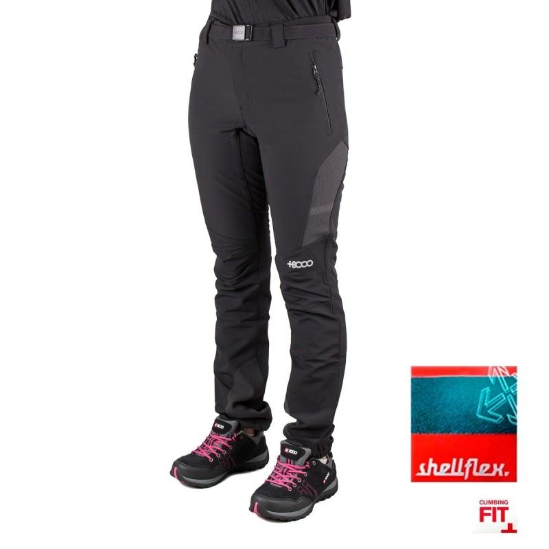 +8000 Pantalón Zermatt 19I Mujer Negro