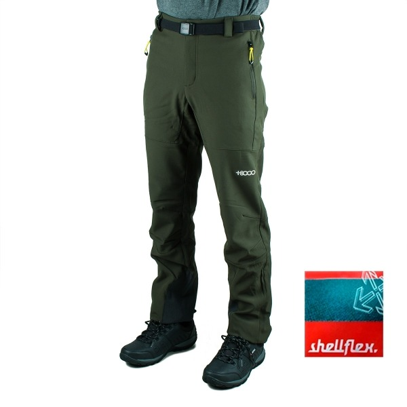 +8000 Pantalón Cordier 19I Militar Verde Hombre