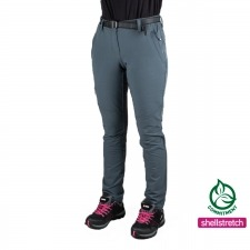 Ternua Pantalón Walker Pant W Mousse Grey Gris Mujer