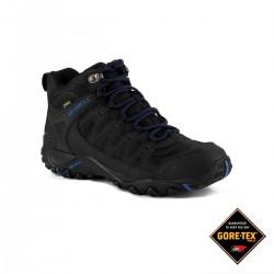 Merrell Bota Accentor Sport Mid GTX Black Sodalite Negro Azul Hombre