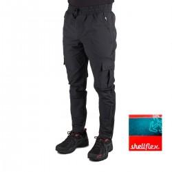 +8000 Pantalón Jongsong 19I Negro Bicolor Hombre