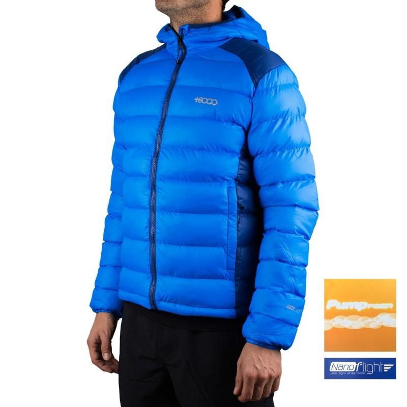 +8000 Chaqueta fibras Icedo 19I Azul Intenso Hombre