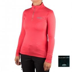 +8000 Camiseta Polari 19I Geranio Rosa Mujer