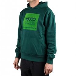 +8000 Sudadera Vandor 19I Verde Botella Hombre