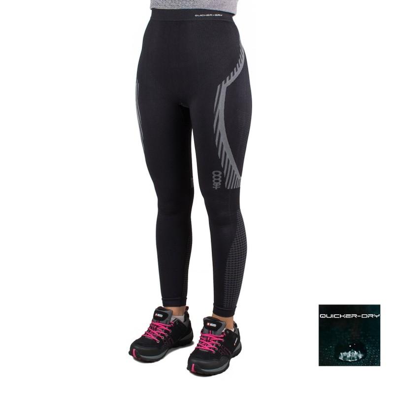 +8000 Pantalón de compresión Hualcan 19I Negro Mujer