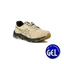 Asics Gel Pulse 11 Winterized Putty Black Crema Mujer