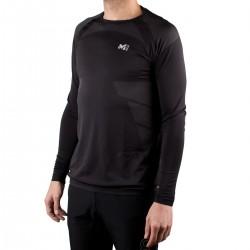 Millet Camiseta térmica Bow Seamless LS Negra Hombre