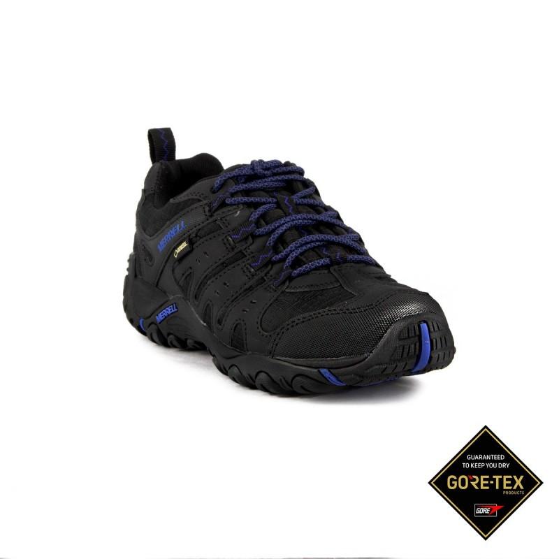 Merrell Zapatilla Accentor Sport GTX Black Sodalite Negro Azul Hombre